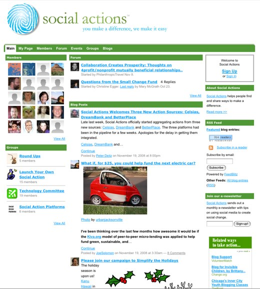 Social Action to make a difference