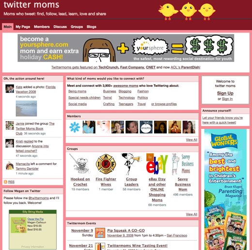 Twittermoms: The (online) place to be