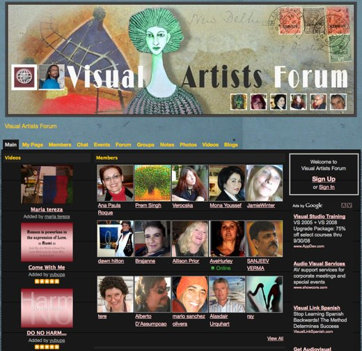 Creativity grows at Visual Artists Forum