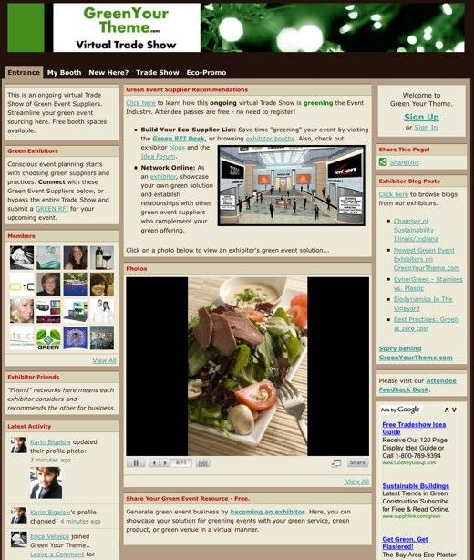 Green Your Theme virtual trade show