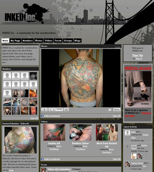 Learn the meaning of a tattooed life at Inked Inc