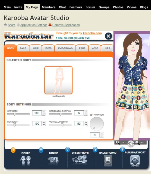 Re-create yourself with Karooba Avatar Studio