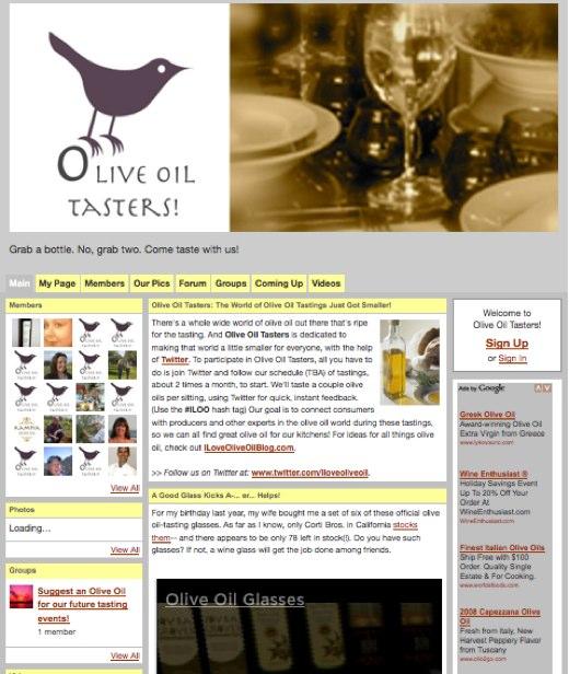 Everyone loves tasting olive oil