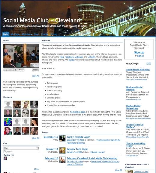 Social media in the Buckeye state