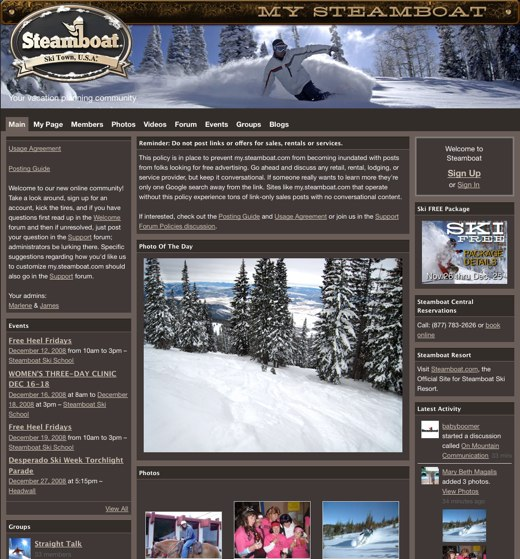 Keeping resort skiers connected, and coming back