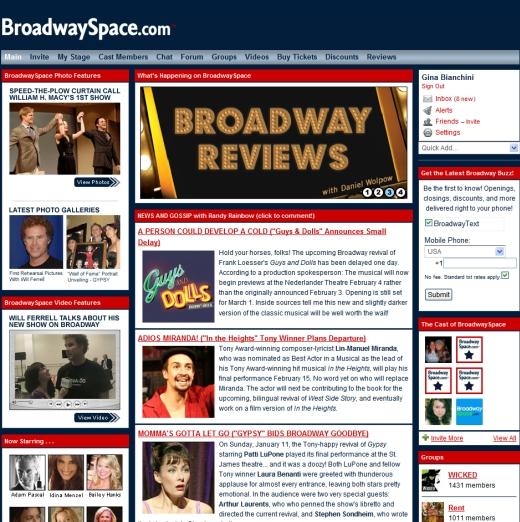 Broadwayspace Does Exclusive Content Right