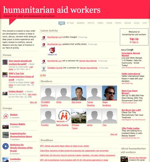 Humanitarian Aid Workers