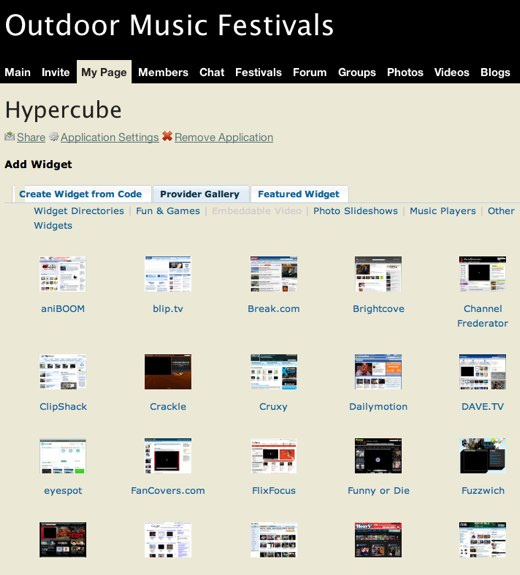 Customize with Hypercube