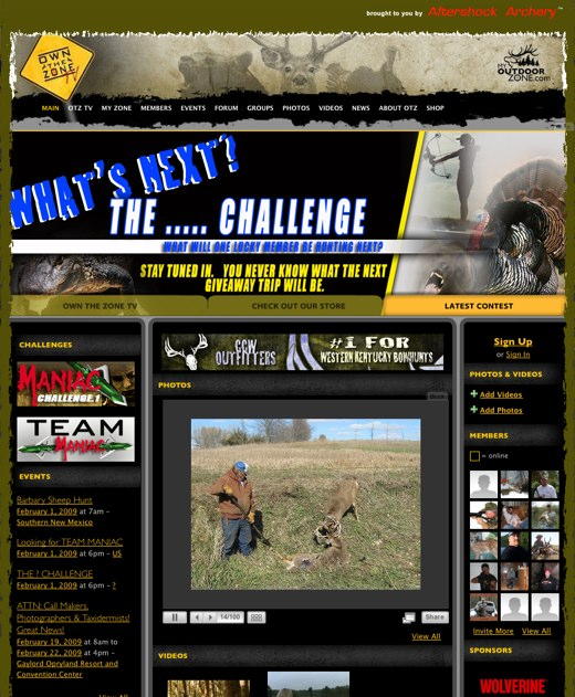 Watch top hunters in action at My OutDoor Zone