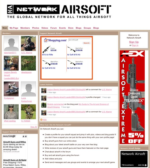 Uniting the Airsoft World at Network Airsoft
