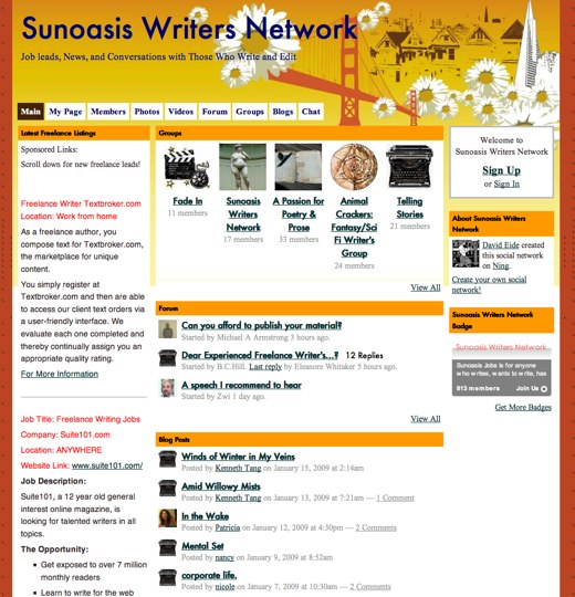 Writing with Sunoasis