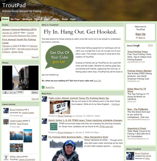 Get out of your cube and join TroutPad