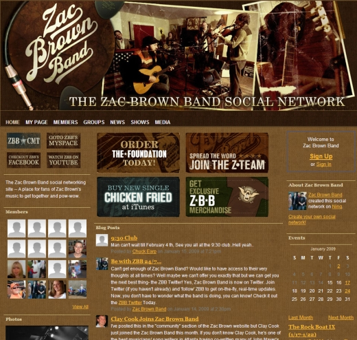 The Zac Brown Band 1