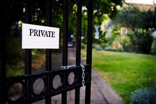 private-gate-opening