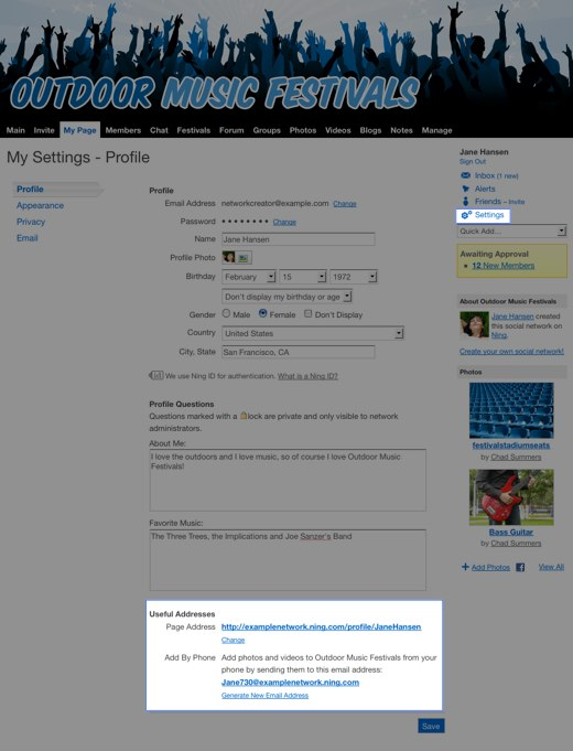my-settings-profile-outdoor-music-festivals