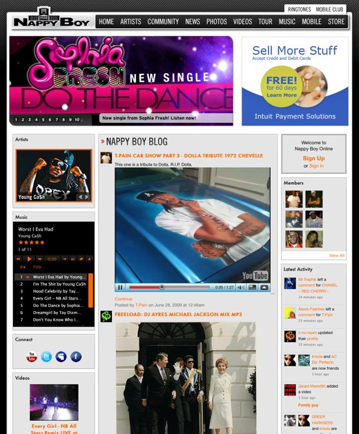Nappy Boy Online - The Official Website of Nappy Boy & T-Pain