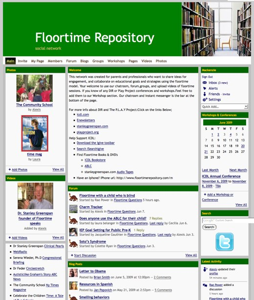 floortime-repository-social-network