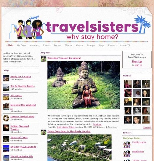 travelsisterscom