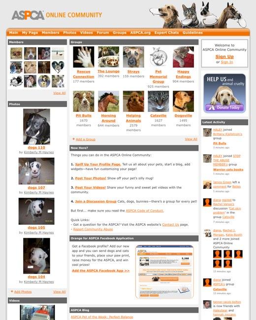 ASPCA Online Community