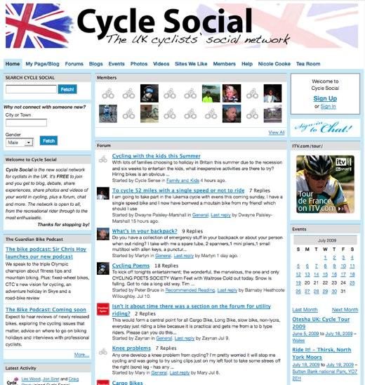 Cycle Social