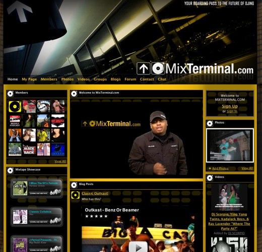 MIXTERMINAL.COM - The Ultimate DJ Network Hub