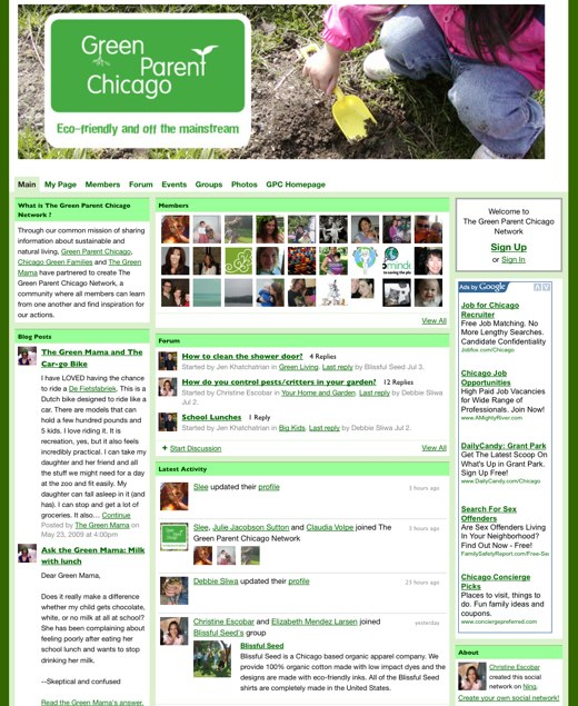 The Green Parent Chicago Network