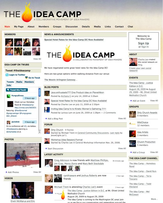 The Idea Camp - a free hybrid conference for idea makers