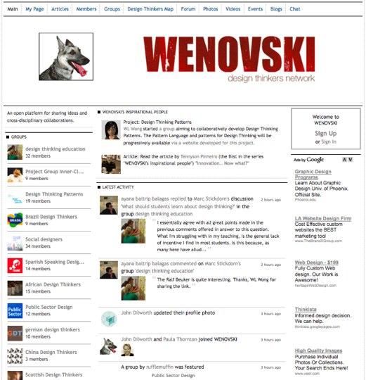 WENOVSKI - Design Thinkers Network