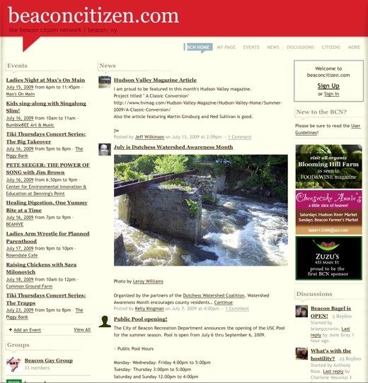 beaconcitizen.com - the beacon citizen network | beacon, ny