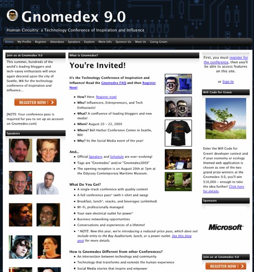 Gnomedex 9.0 - Human Circuitry_ a Technology Conference of Inspiration and Influence