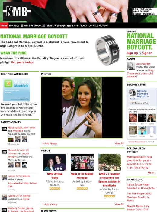 National Marriage Boycott