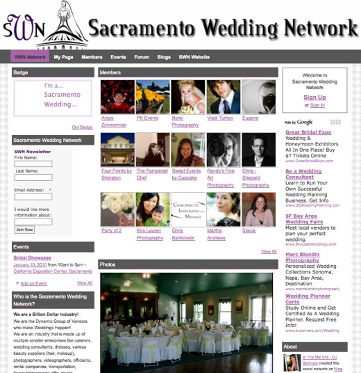 Sacramento Wedding Network - Making Connections...-1