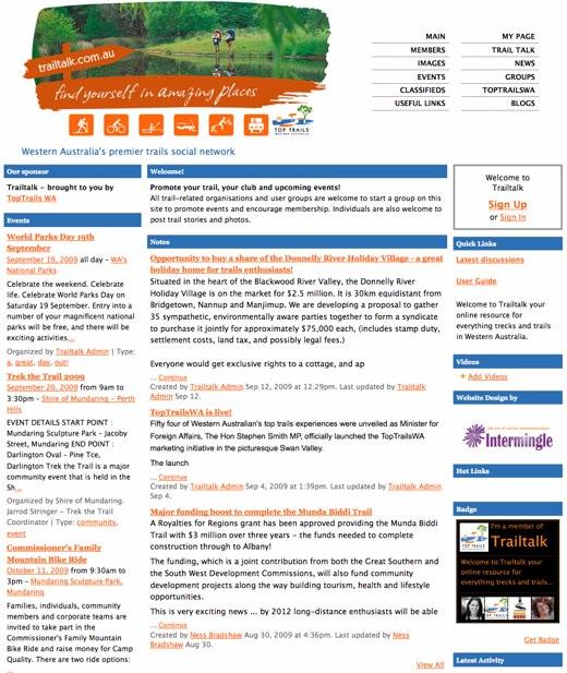Trailtalk - Western Australia_s premier trails social network