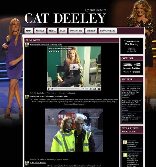 Cat Deeley - The Official Website for Cat Deeley