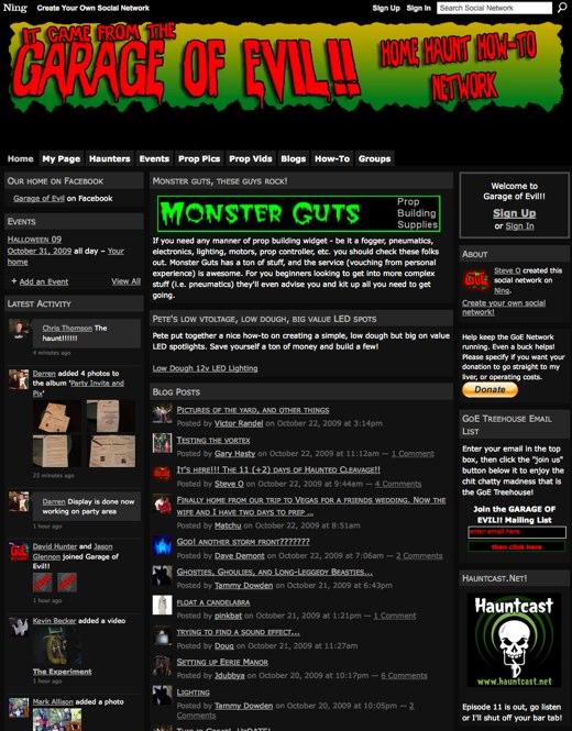 Garage of Evil!! - A Community of Halloween Prop Builders