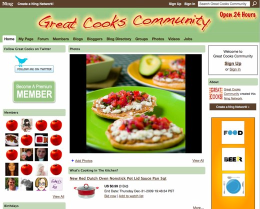 Great Cooks Community