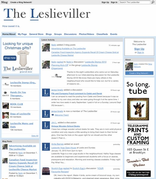 The Leslieviller - How sweet it is.