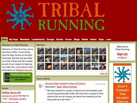 Tribal Running