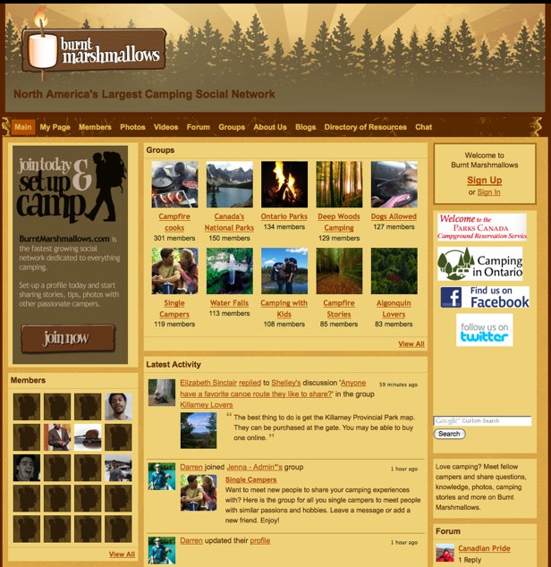 Burnt Marshmallows - North America_s Largest Camping Social Network