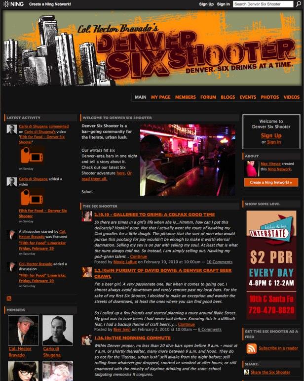 Denver Six Shooter