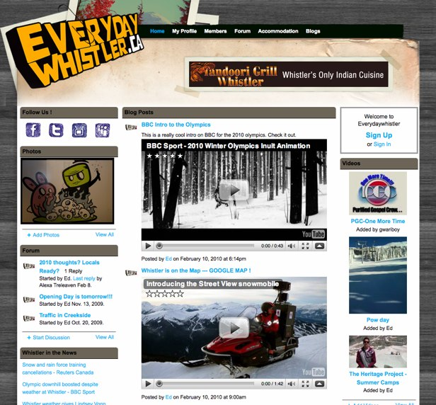Everydaywhistler - Whistler_s Online Community!