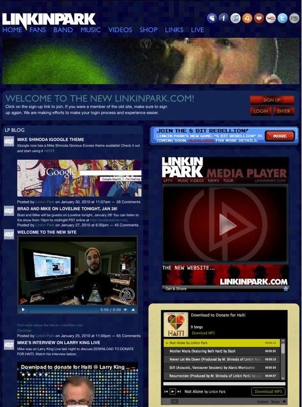 LinkinPark.com - official website