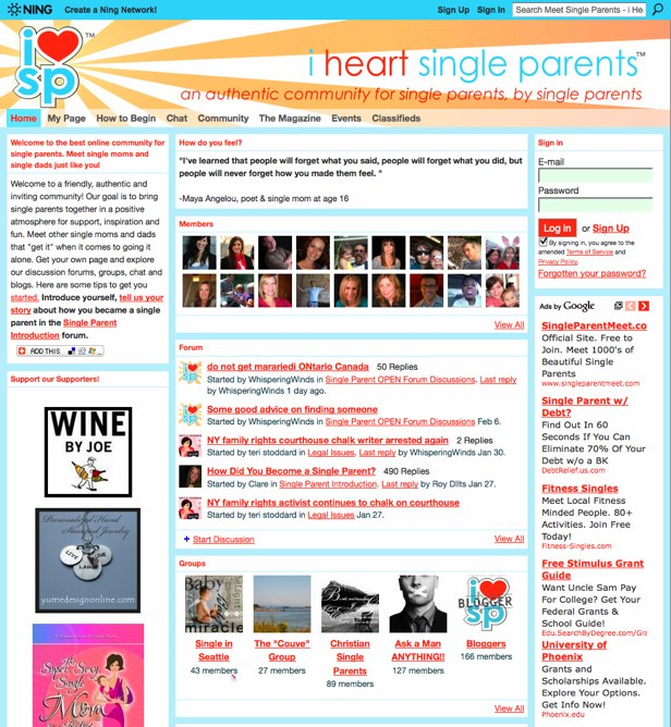 Meet Single Parents - i Heart Single Parents Social Network - An online community for single parents to meet, chat and find support!