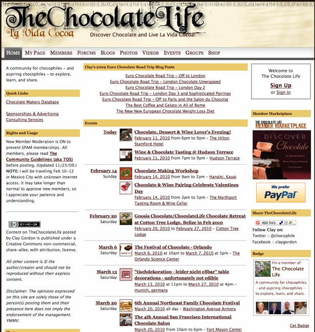 The Chocolate Life - Discover Chocolate and Live La Vida Cocoa!