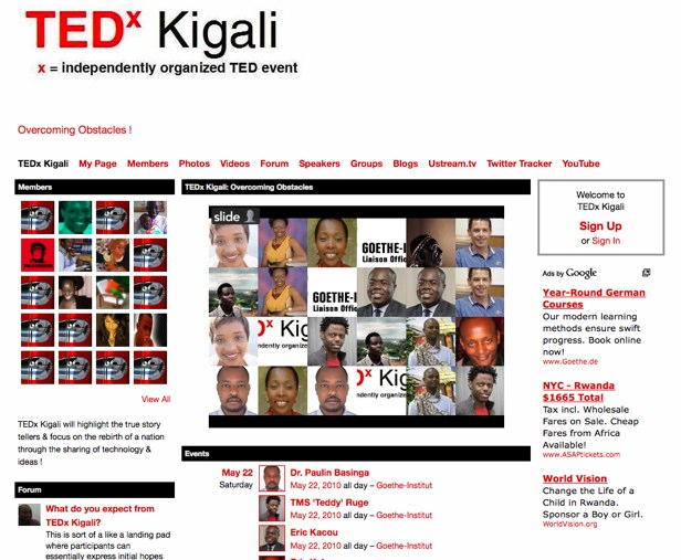 TEDx Kigali - Overcoming Obstacles !