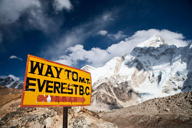 Ning on Mt. Everest