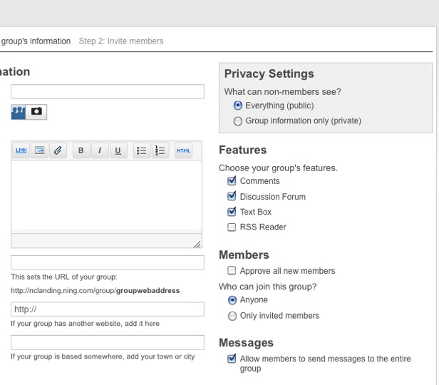 Coming to Groups: Add Pages, change privacy settings and more 2