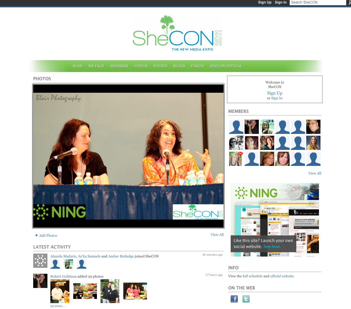 SheCon'11 and the trail-blazing women of the Web 2