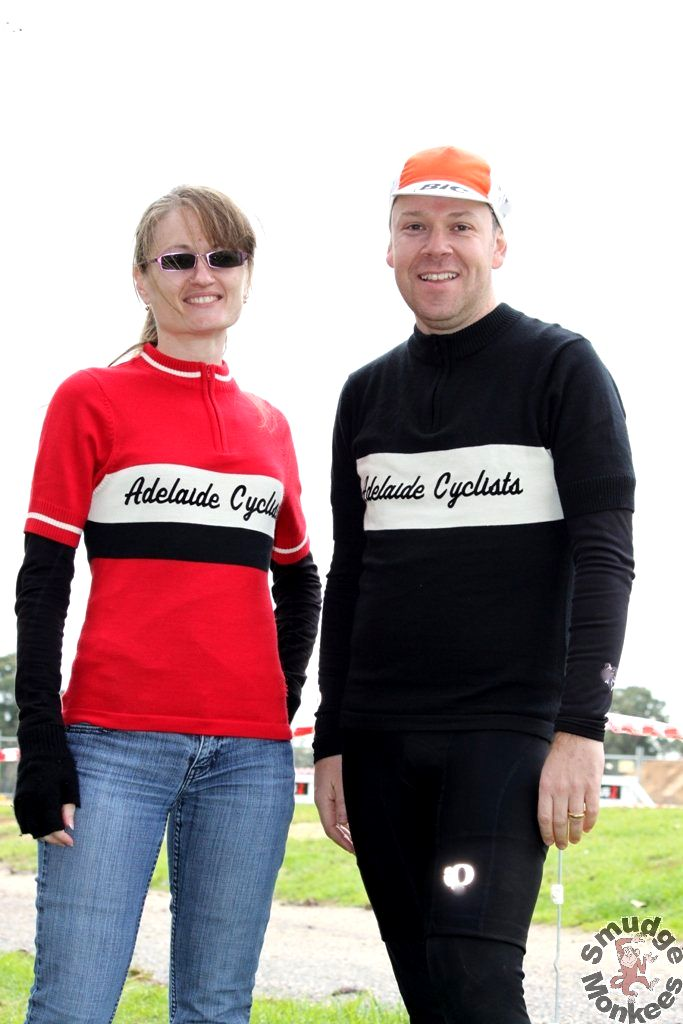 Adelaide Cyclists Jersey. Photo Credit: Smudge Monkees