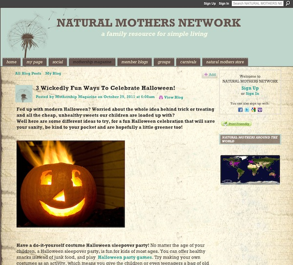 Halloween costume tips and tricks à la Ning communities 5